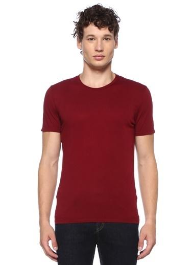 American Vintage Tişört Bordo